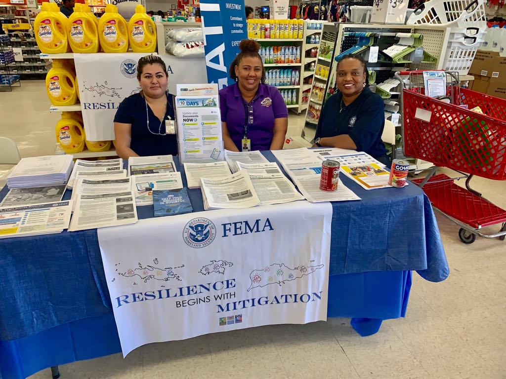 VITEMA and FEMA employees