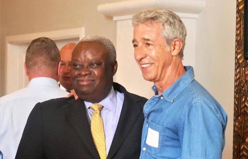 Governor Mapp and Task Force John Klein